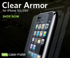 Clear Armor Screen Protectors for the Apple iPhone